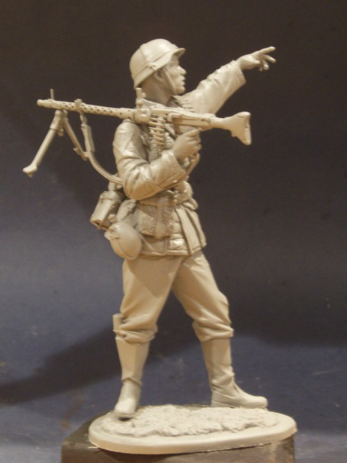 1/12 German Mg 34 Gunner from acmodels October release 2012